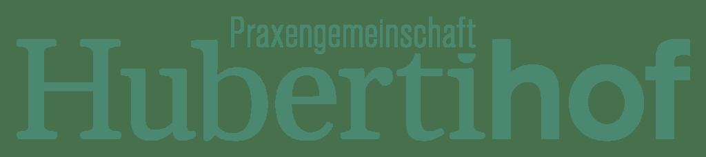 Praxengemeinschaft-Hubertihof-Logo_Wortmarke
